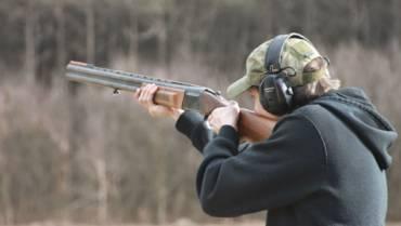 Trening – Strzelanie do rzutków/karabin