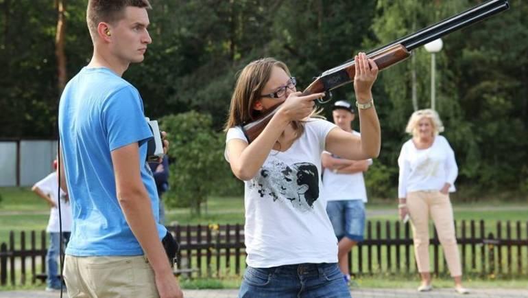 Strzelanie do rzutków/karabin TRENING 27.06.2019